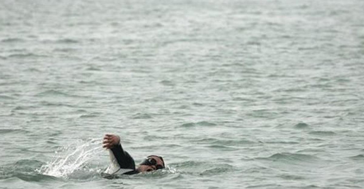 Карась изПольши стал первым человеком, переплывшим Балтийское море