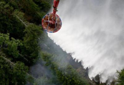 Азербайджан помогает Грузии в борьбе с новыми лесными пожарами