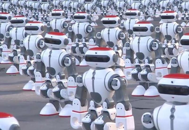 Танец сотен роботов попал в Книгу рекордов Гиннеса