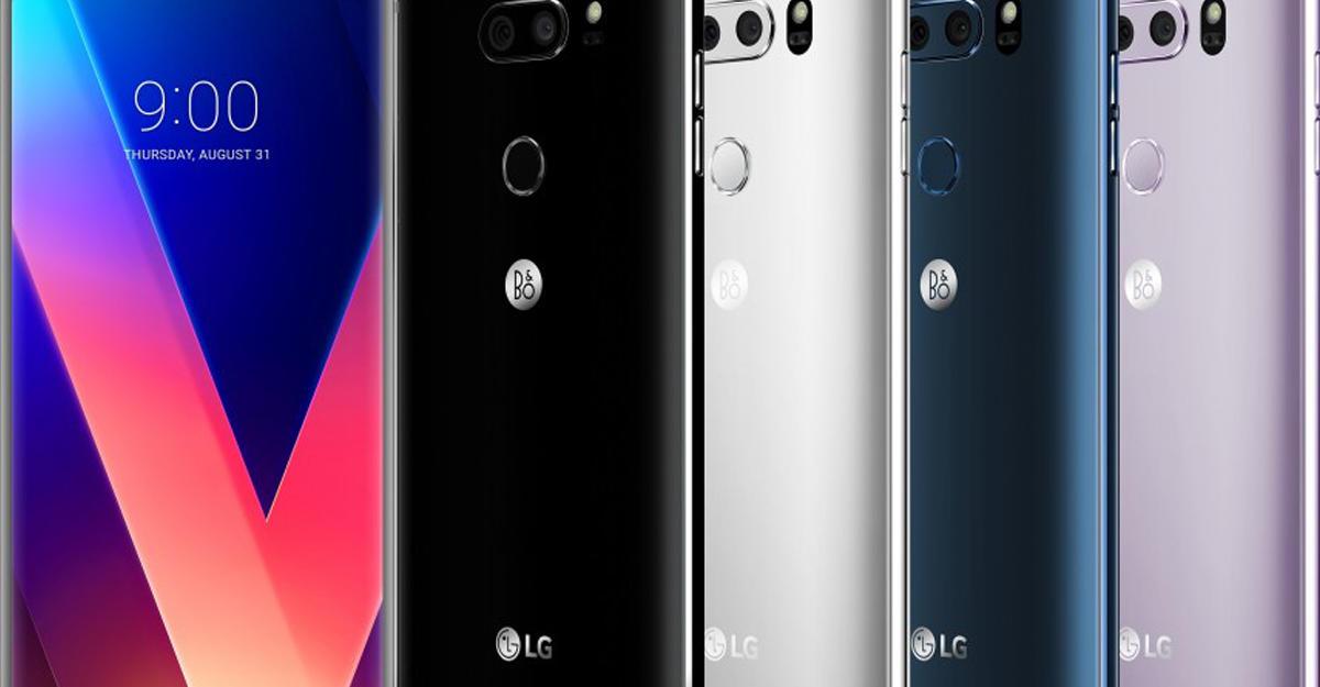 LG V30 представлен официально
