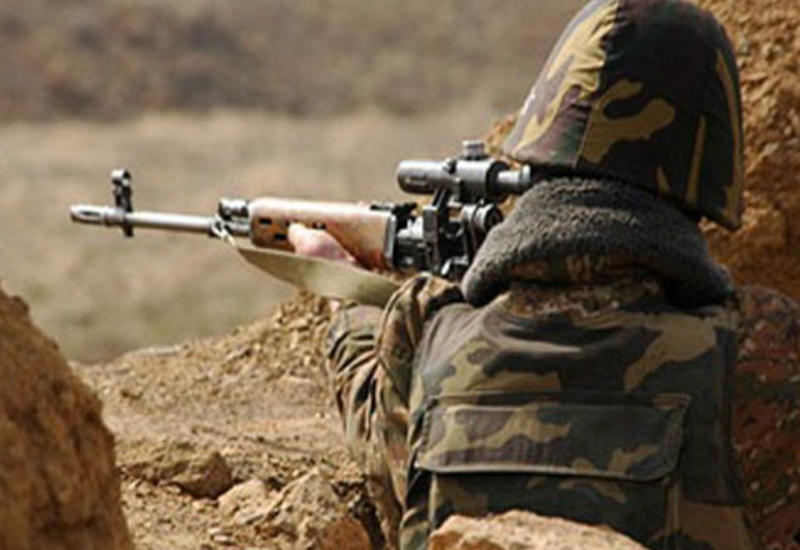 Армянские ВС ведут интенсивный обстрел на линии фронта