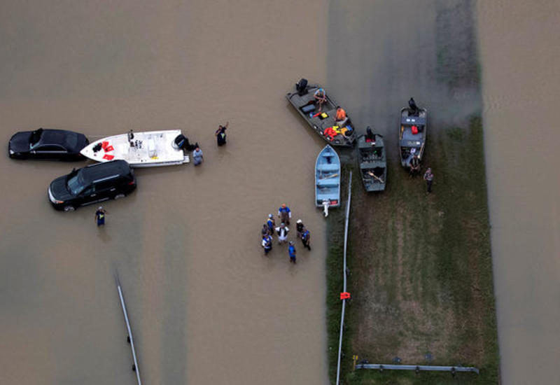 Власти Техаса оценили ущерб от урагана «Харви»