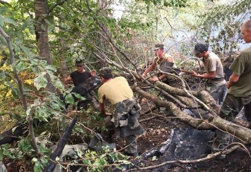 МЧС о крупном пожаре в Габале