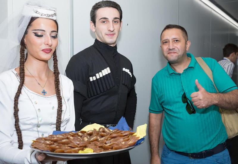 Азербайджанские журналисты стали первыми пассажирами Buta Airways