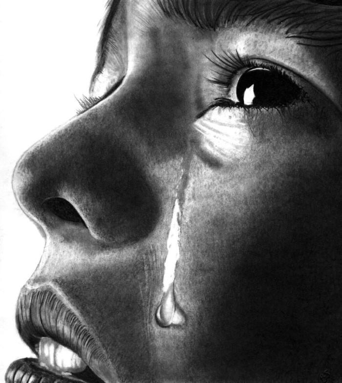 плачущий мужчина картинки карандашом часто шили мундиры