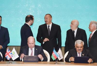 """В Баку подписано новое соглашение по разработке блока нефтегазовых месторождений """"Азери-Чыраг-Гюнешли"""""""