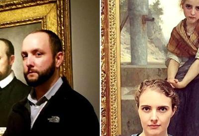 """12 людей, которые обнаружили своих близнецов на полотнах в Лувре <span class=""""color_red"""">- ФОТО</span>"""