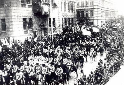 Исполняется 99 лет со дня освобождения Баку от большевистско-дашнакской оккупации