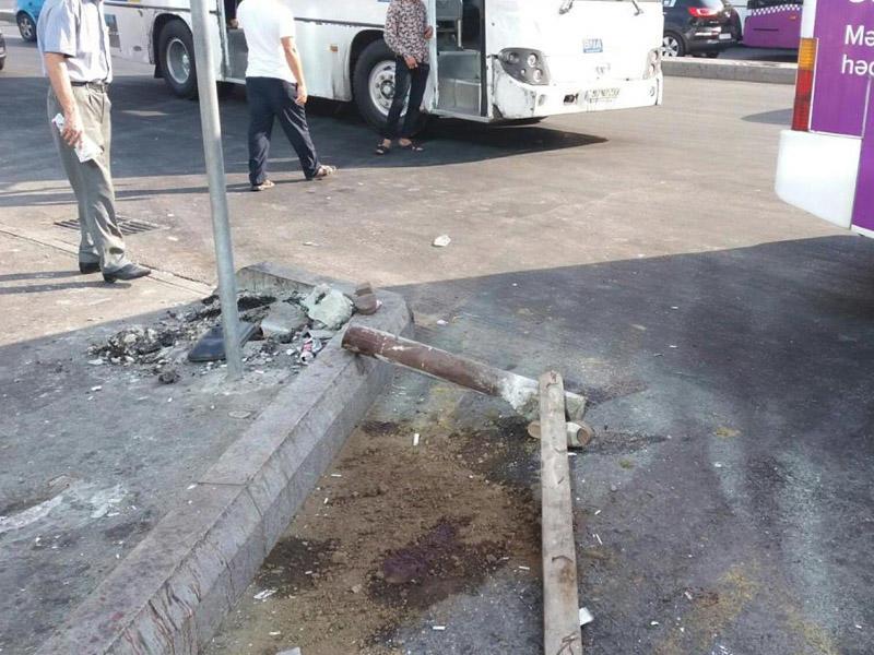 Piyadanı öldürən avtobus sürücüsü ilə bağlı RƏSMİ AÇIQLAMA