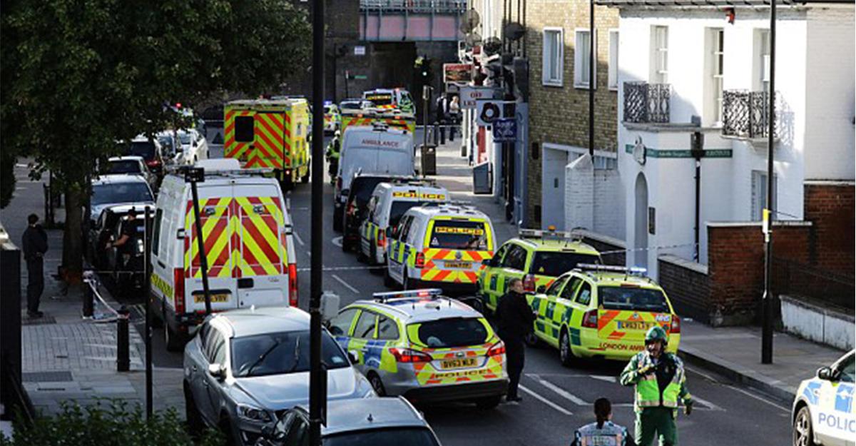 При взрыве вметро Лондона пострадало 20 человек