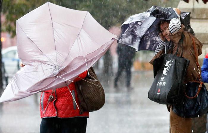 В столицеРФ  объявили «оранжевый» уровень погодной опасности