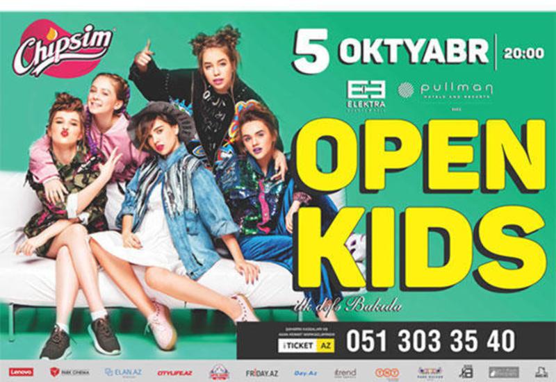 """Группа """"Open Kids"""": Салам, Баку! Мы впервые едем в Азербайджан! <span class=""""color_red"""">- ВИДЕО</span>"""