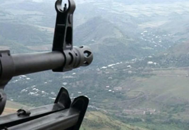 Армяне интенсивно обстреляли позиции ВС Азербайджана