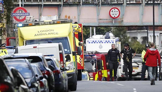 Вметро Лондона началась паника после взрыва
