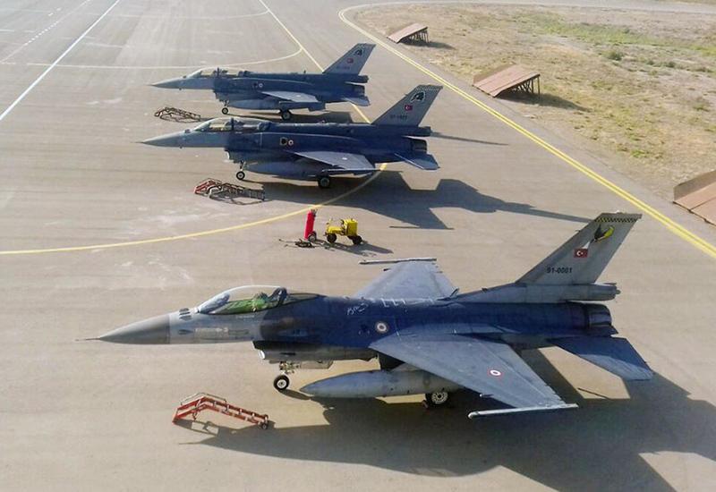 Начались совместные учения ВВС Азербайджана и Турции