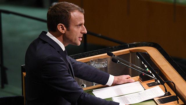 Посол Франции: Макрон будет рад посетить РФ поприглашению В.Путина