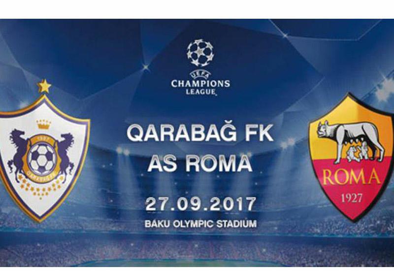 """""""Qarabağ"""" - """"Roma"""" oyunu yağış altında keçəcək <span class=""""color_red"""">- Nazirlik</span>"""