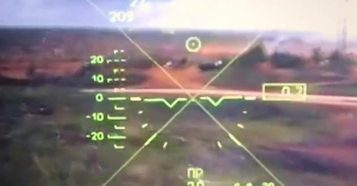 Русский вертолет открыл огонь позрителям научениях «Запад-2017»