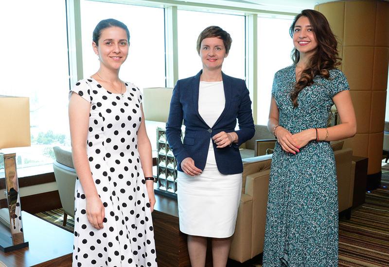 """Мария Рудзинская: Это очень благополучно отразилось на развитии туризма в Азербайджане <span class=""""color_red"""">- ИНТЕРВЬЮ - ФОТО</span>"""