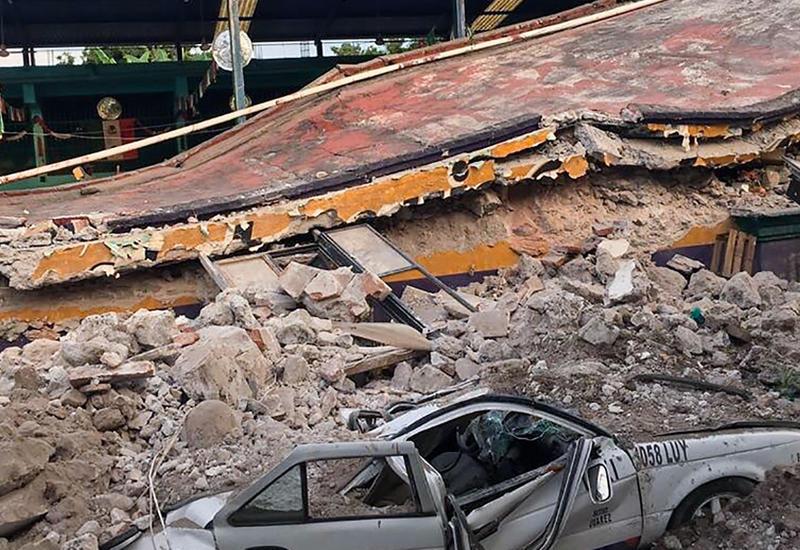 """В Сети появились кадры, снятые в момент землетрясения в Мексике <span class=""""color_red"""">- ВИДЕО</span>"""