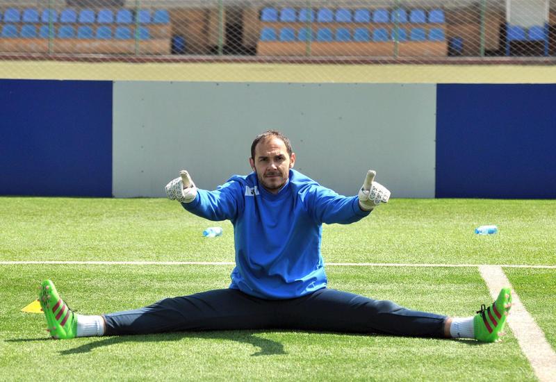 Вратарь сборной Азербайджана сыграл в Кубке Чехии