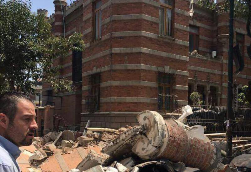 """Мощное землетрясение на юге Мексики: пожары, обрушенные здания, люди под завалами <span class=""""color_red"""">- ОБНОВЛЕНО - ФОТО</span>"""