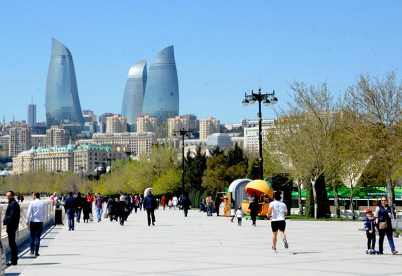 В Баку будет 17 градусов тепла