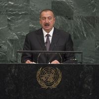 """Президент Ильхам Алиев: Против Армении должны быть приняты международные санкции <span class=""""color_red"""">- ВЫСТУПЛЕНИЕ НА ГЕНАССАМБЛЕЕ ООН</span>"""