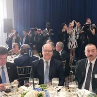 """Президент Ильхам Алиев присутствовал на официальном государственном обеде в штаб-квартире ООН <span class=""""color_red"""">- ФОТО</span>"""