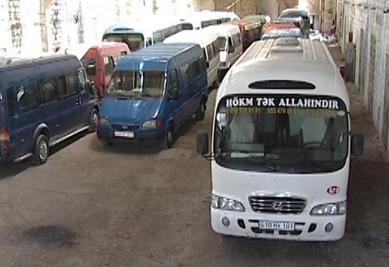 """Bakı-Sumqayıt avtobuslarına qarşı reyd keçirildi <span class=""""color_red""""> - FOTO</span>"""