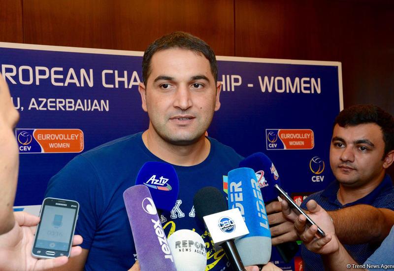 Тренер сборной Азербайджана по волейболу: Хотим занять первое место в группе