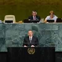 Президент Ильхам Алиев: Один из тех военных преступников, кто совершил ужасные преступления против человечества, - нынешний президент Армении