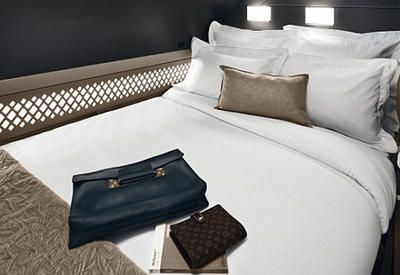 """Арабская авиакомпания первой в мире оборудовала самолеты двухспальными кроватями <span class=""""color_red"""">- ВИДЕО</span>"""