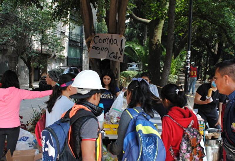 В Мексике более 200 человек пропали без вести после землетрясения