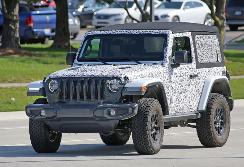 """Рассекречен очередной кусочек нового Jeep Wrangler <span class=""""color_red"""">- ФОТО</span>"""