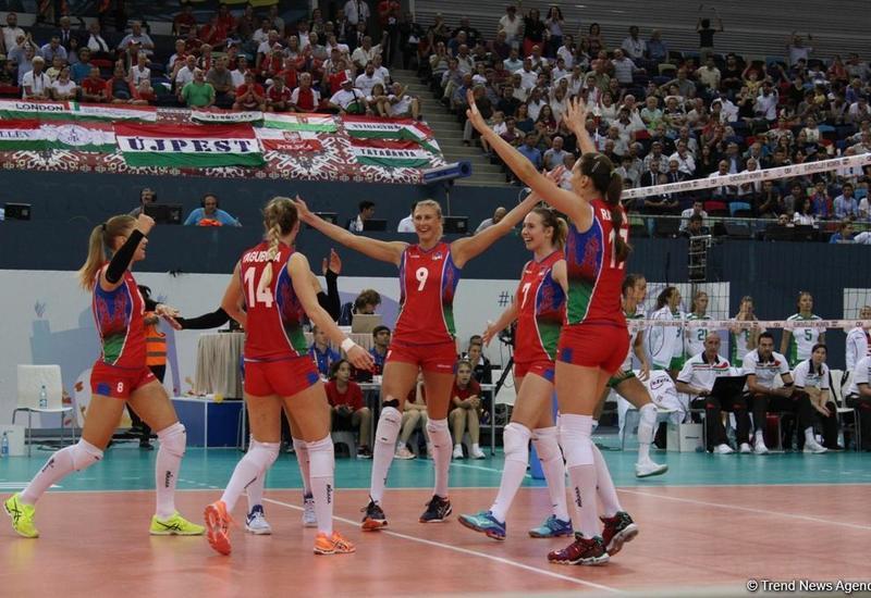 """Первый день Чемпионата Европы по волейболу среди женщин <span class=""""color_red"""">- ФОТОСЕССИЯ</span>"""