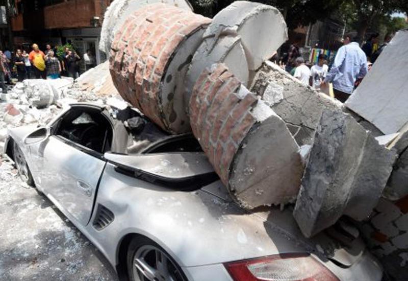 """В Сети появилось новое шокирующее видео землетрясения в Мексике <span class=""""color_red"""">- ВИДЕО</span>"""