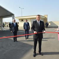 """Президент Ильхам Алиев принял участие в открытии Балаханского промышленного парка <span class=""""color_red"""">- ФОТО</span>"""