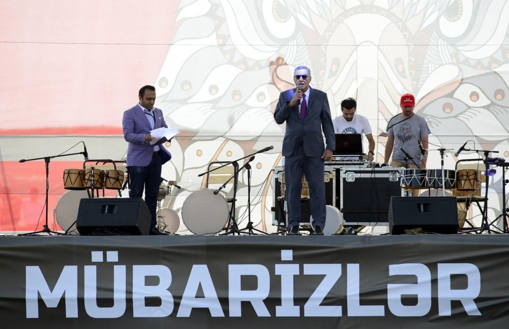 В Баку впервые прошел экстремальный спортивный турнир  международного уровня – соревнование «Мюбаризляр»