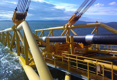 В Турции начали строить морской участок TANAP