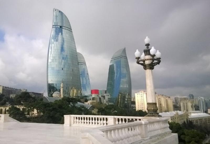 В Баку будет облачно и ветрено