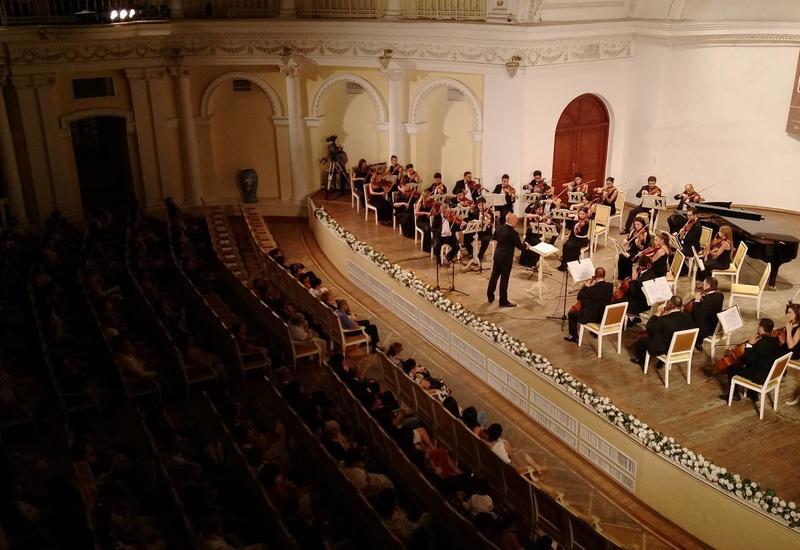 Сцена Филармонии объединила два высокопрофессиональных оркестра