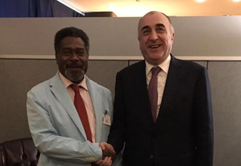 """Азербайджан и Вануату установили дипотношения <span class=""""color_red"""">- ФОТО</span>"""