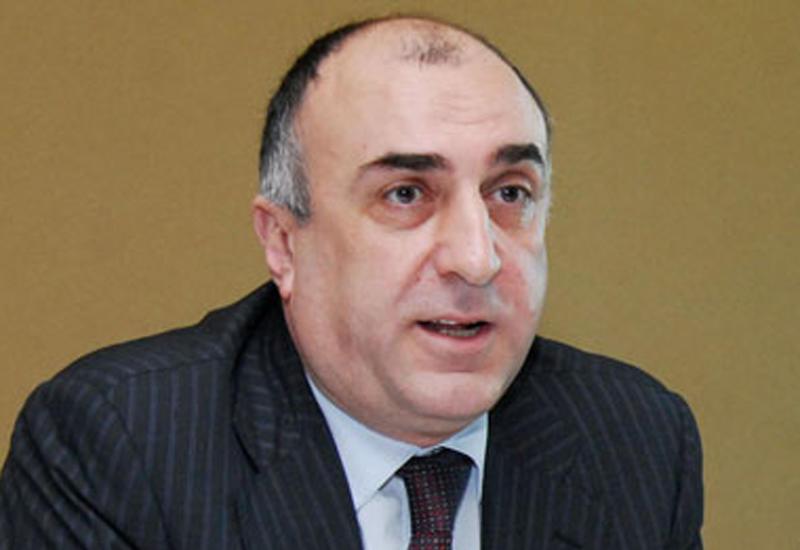 Эльмар Мамедъяров на переговорах с главами МИД Бельгии и Малайзии