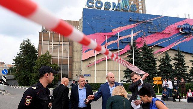 В столице России из-за сообщений обугрозе взрыва эвакуируют гостиницы иТЦ