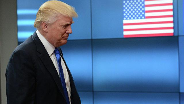 Трамп призвал спортсменов уважать символику США