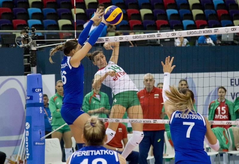 Сегодня станут известны первые четвертьфиналисты чемпионата Европы по волейболу