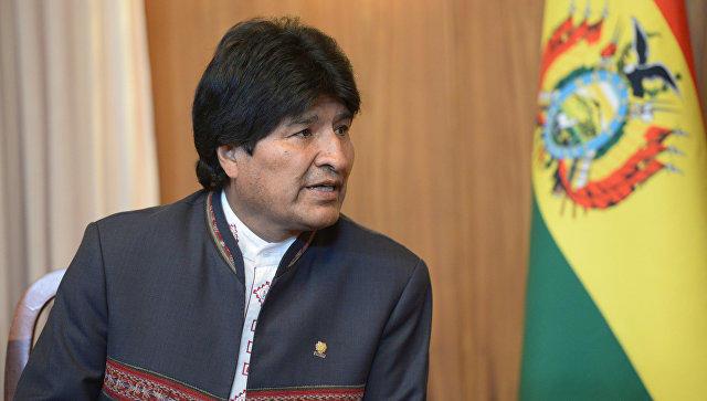 Президент Боливии: Трамп грозит всей земле ичеловечеству