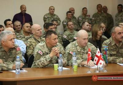 """Азербайджанские военные на учениях по охране нефтегазопроводов в Грузии <span class=""""color_red"""">- ФОТО</span>"""