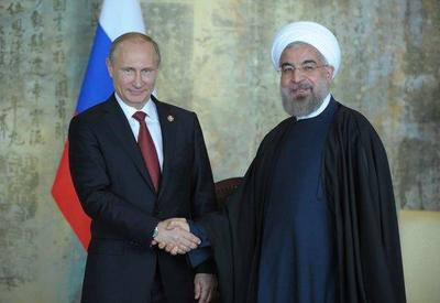 Путин и Роухани обсудили сотрудничество в формате Россия-Иран-Азербайджан